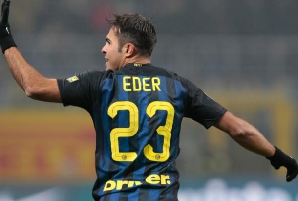 Eder esulta dopo un gol | sport.tiscali.it