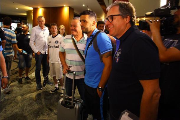 Edílson quer mais uma vitória no Mineirão, agora, contra o Atlético-MG (Foto: Divulgação/Grêmio)