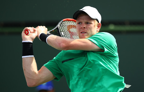 Edmund will need to hope that Djokovic is not at 100 percent to have a chance of winning this match (Photo by Clive Brunskill / Getty Images)