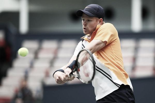Edmund durante un partido en el Masters 1000 de Shanghai. Foto: zimbio.com