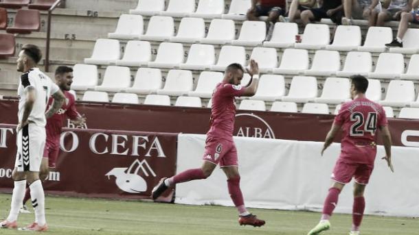Edu Ramos pide perdón al marcar a su Ex-equipo (FOTO: LaLiga)