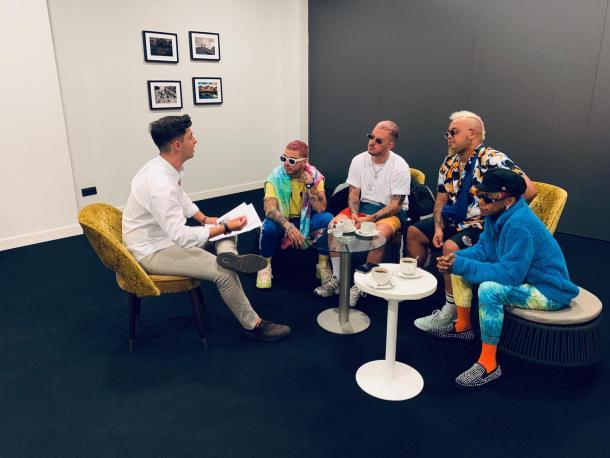 Fotografía de la entrevista con Trápical Minds. Foto: VAVEL.com