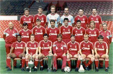 Plantilla del Liverpool 1989-1990 / FOTO: Liverpool