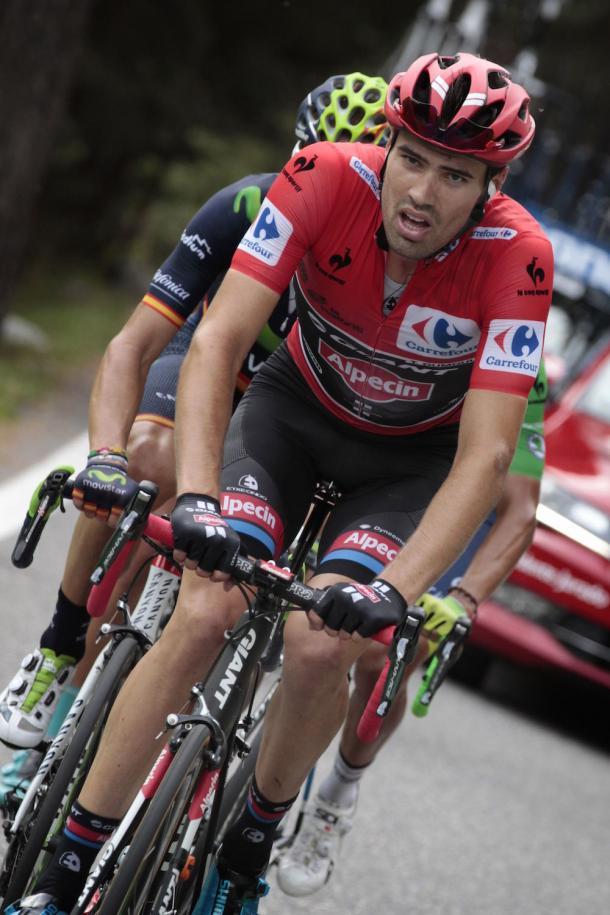 Tom Dumoulin estuvo cerca de ganar la Vuelta a España 2015. | Foto: Pinterest