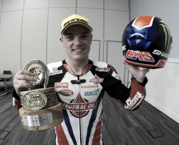 Sam Lowes finished second | Photo: Twitter: Gresini Racing