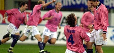 Celebrando uno de los goles. Fuente: vavel.com