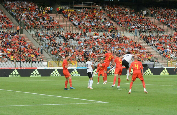 Bélgica goleó (3-0) a Egipto en el partido de preparación. | Foto. Federación Egipcia de Fútbol