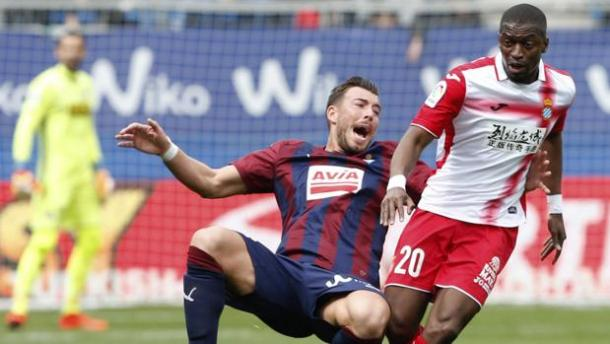 Eibar-Espanyol 1-1   Foto: ABC.es