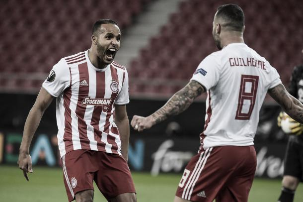 Gol de El Arabi./ Foto: Europa League