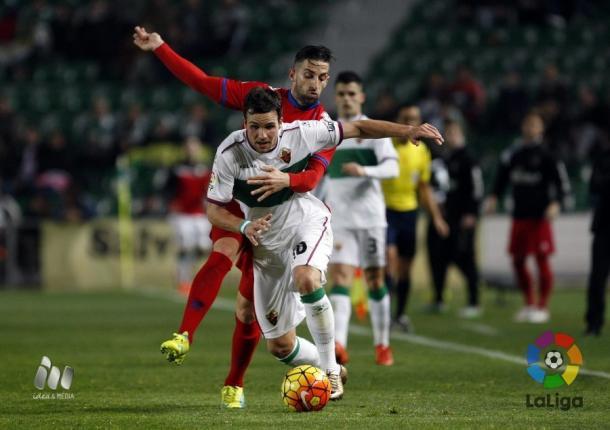 El Elche no pasó del empate sin goles contra el Numancia | Foto: LaLiga.