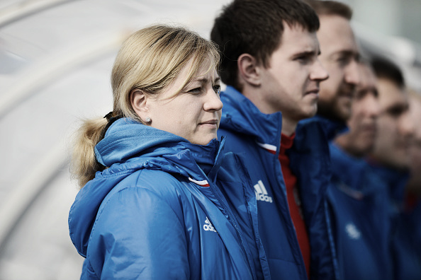 Treinadora Elena Fomina garante que Rússia não tem medo da seleção da Itália (Foto: Jose Breton via NurPhoto/Getty Images)