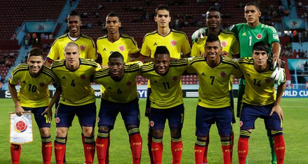Titulares selección Colombia frente a República de Corea I Foto: FIFA