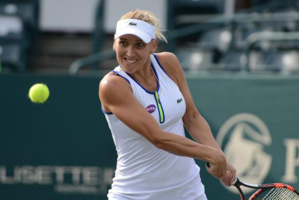 Elena Vesnina Showed What She Is Capable Of When She Is On Top Form. Photo: Christopher Levy/ @tennis_shots