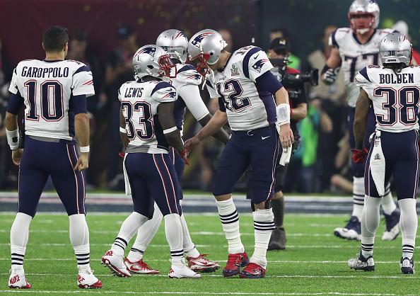 Ataque dos Patriots engrenou e encostou no placar na etapa final | Foto: Elsa/Getty