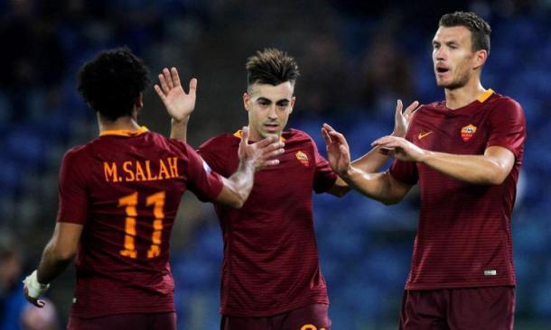 Il tridente della Roma. Fonte foto: calciomercato.com