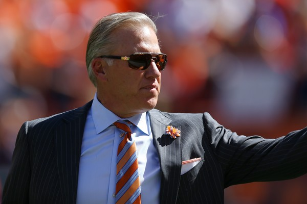 Elway remains with the Broncos. Photo: Justin Edmonds/Getty Images North America