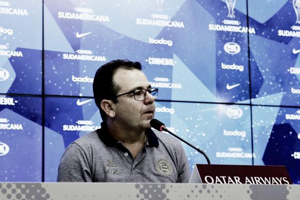 Enderson Moreira seguirá sendo o técnico do Bahia em 2019. Divulgação de foto: EC Bahia