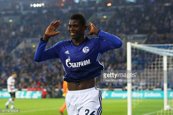 Embolo has been ruled out for the season after his injury at Augsburg. (Photo: Getty Images)