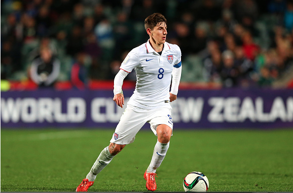 Emerson Hyndman will need to be the creative spark for the United States on Friday. Photo provided by Getty Images.