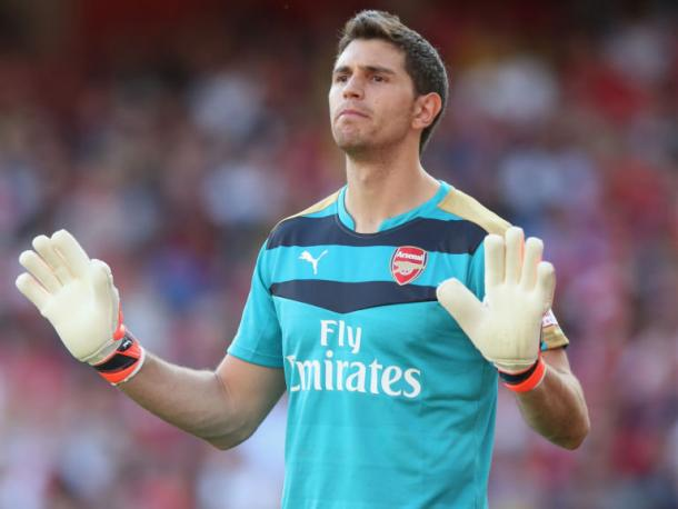 Martínez ha sido titular en Copa de la Liga. Foto: Arsenal