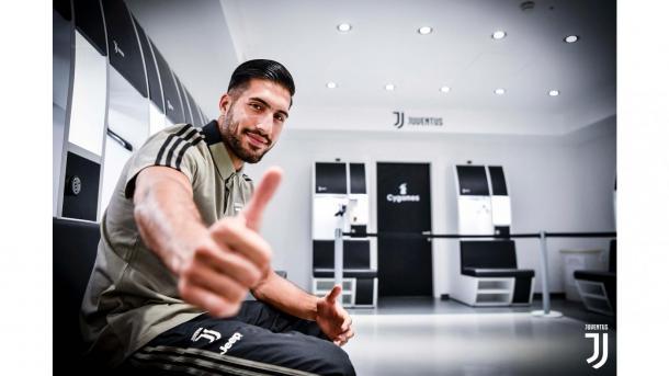 Emre Can foi outro destaque nas contratações da Juve para próxima temporada. Foto: Reprodução/Juventus