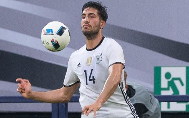 Emre Can is yet to make an appearance for Germany at Euro 2016. (Picture: Getty Images)