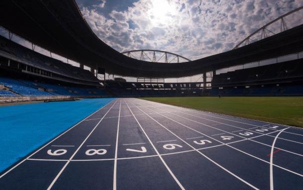 Pista recém-inaugurada para os Jogos Olímpícos (Foto: Alex Ferro/Rio 2016)