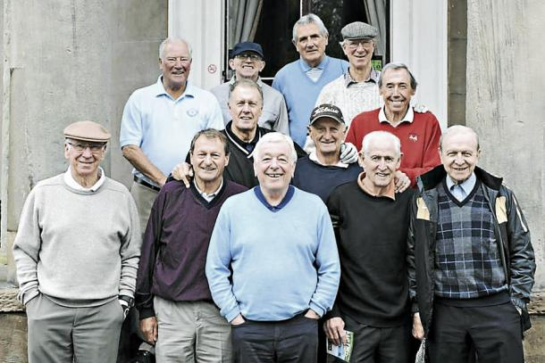 12 of the 22 of Alf Ramsey's World Cup winning squad (image: shropshirestar.com)