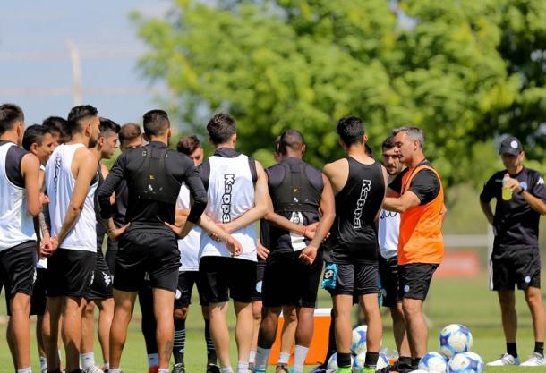 El Pirata regresó a los entrenamientos este día lunes | Foto: Belgrano Oficial.
