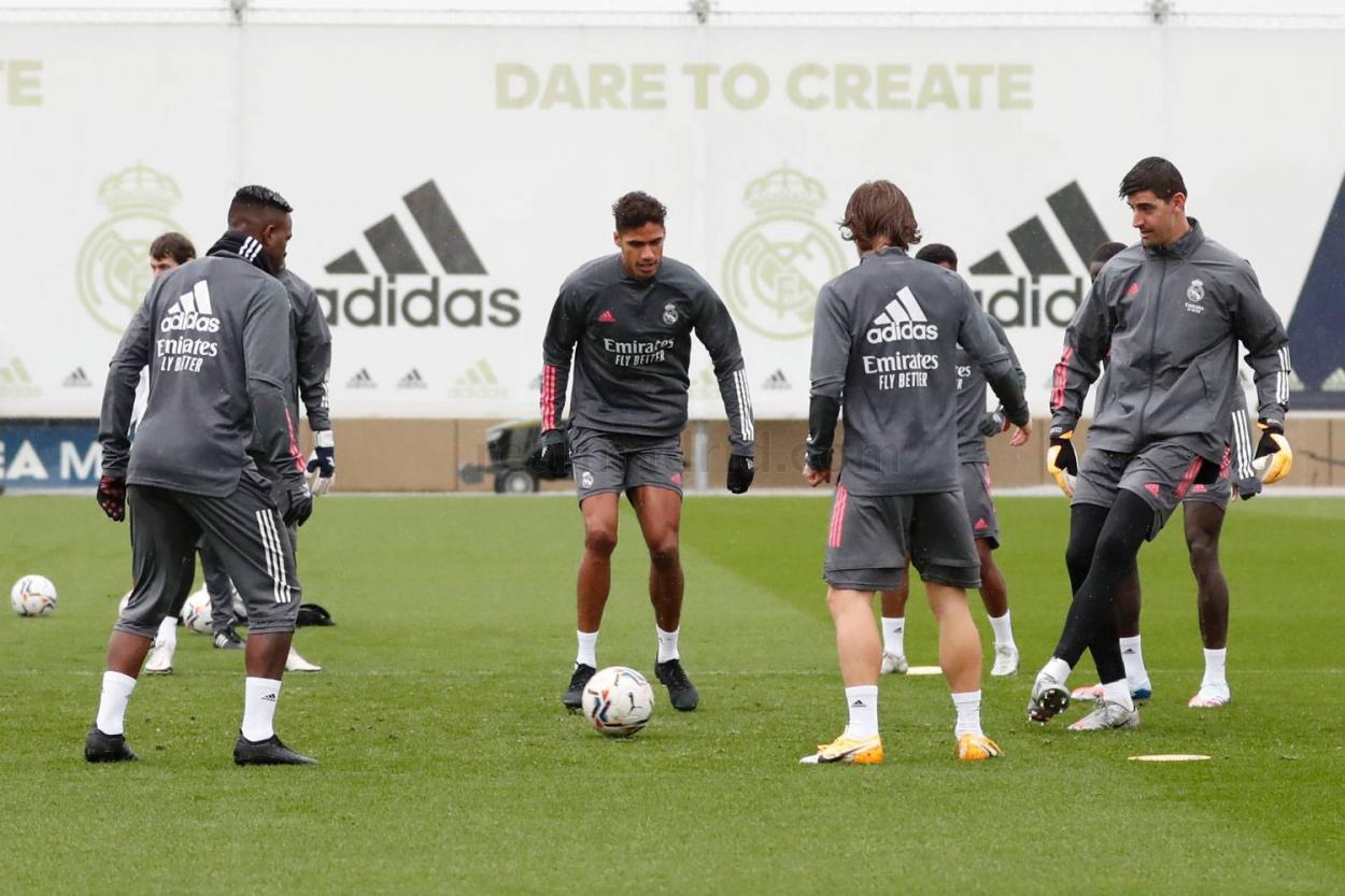 Entrenamiento Real Madrid   Foto: Real Madrid