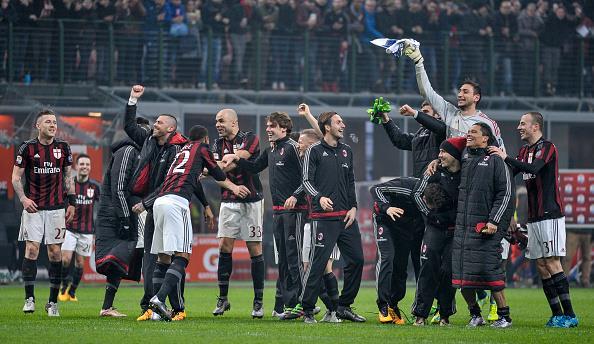 Milan sonhava após boas partidas (Foto: Getty Images)