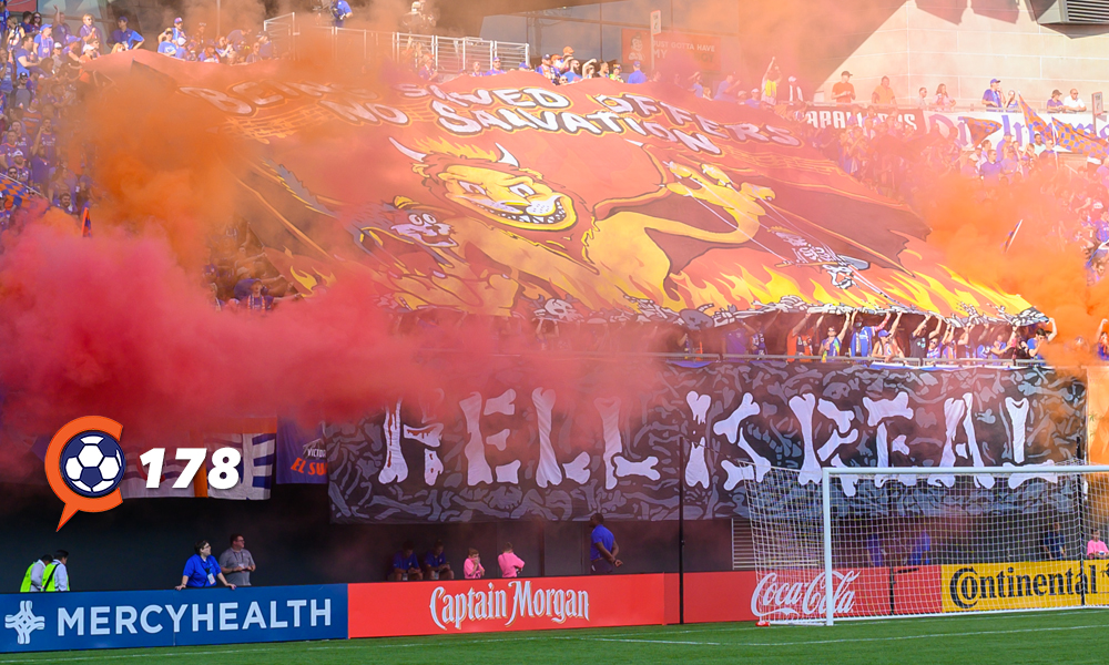 Afición del 'FC Cincy' reciben a su equipo en el 'Hell is Real' (cincinnatisoccertalk.com)