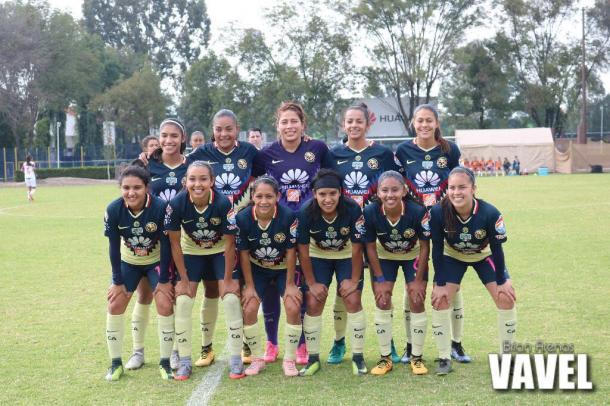 (Club América Femenil | Foto: Brian Arenas VAVEL.com)