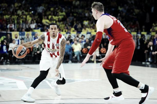 Green, Olympiakos. Fonte foto: http://www.euroleague.net