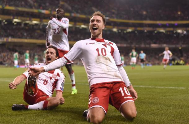 Christian Eriksen del Tottenham, gran figura y capitán de Dinamarca | Foto: La Pelotona