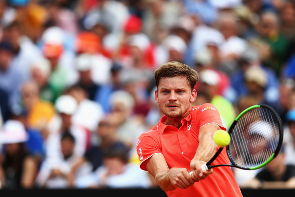 Goffin segue para às quartas de final (Foto: Getty Images Sport Dean Mouhtaropoulos)