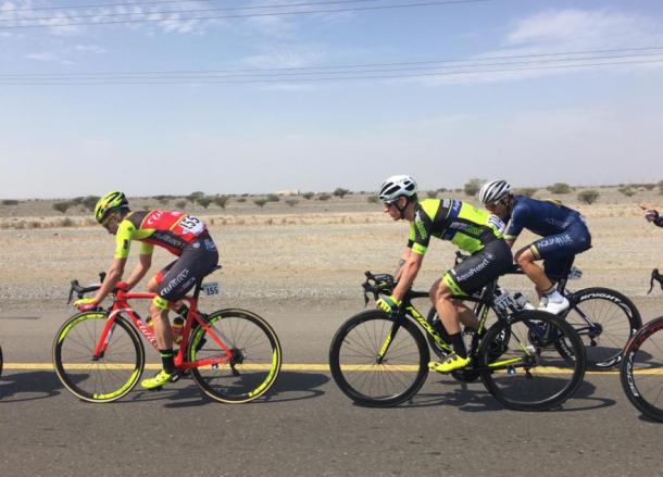 La fuga resisitió hasta los últimos 10 km   Foto: Tour de Omán