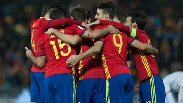 A equipa espanhola lidera o Grupo G | Foto:uefa.com/worldcup