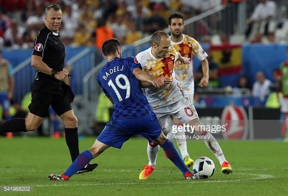 A Croácia surpreendeu ao vencer a Espanha por 2-1