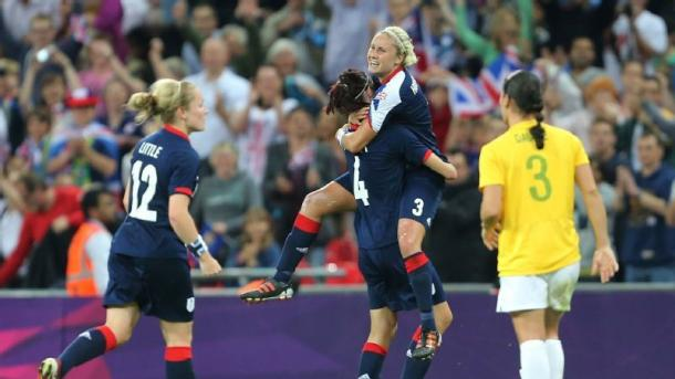London 2012 was a breakout tournament for now England captain Steph Houghton | Source: ESPN W