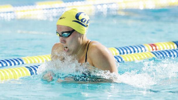 Marina García durante su paso por Estados Unidos. / Foto: Cal Athletics
