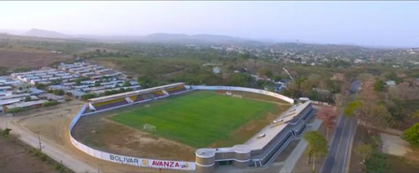 Toma aérea del Estadio Julia Turbay Samur | Foto: Sucre Comunicaciones