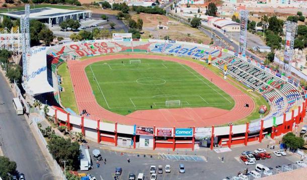 Resultado y goles del mineros vs lobos buap semifinales 2 for Puerta 5b estadio universitario