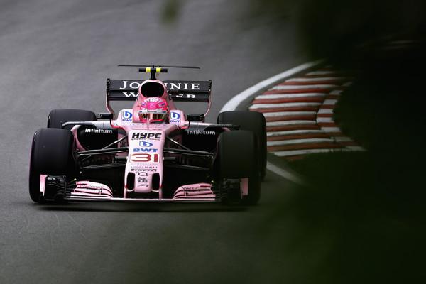 Esteban Ocon durante el GP de Canadá   Imagen: Getty Images