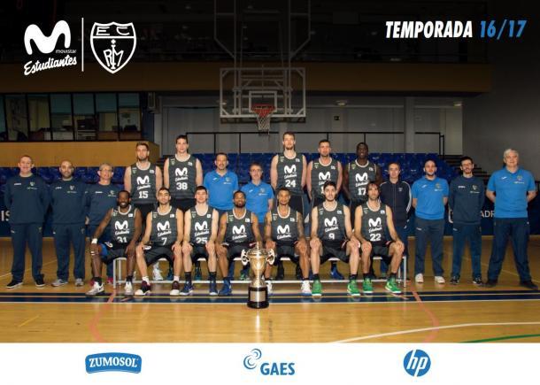 Estudiantes, temporada 2016/17.   Foto: Estudiantes
