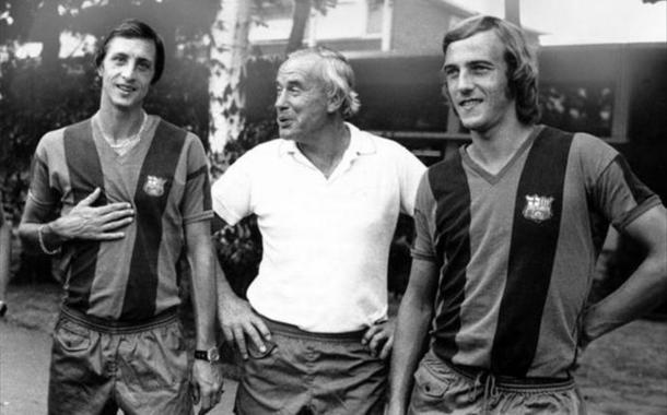 Cruyff, Weisweiler y Neeskens (foto:sports)