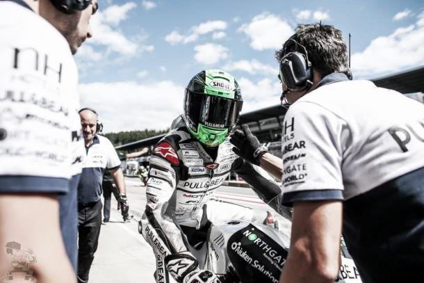 Laverty was pleased with his best ever qualifying session | Photo: Facebook