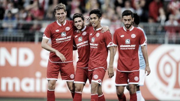 Last season's success story means Mainz will play Europa League football this season. (Photo: Eurosport)