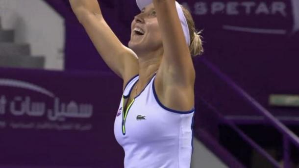 Vesnina has had more success in doubles rather than singles in recent years. | Image credit: TennisTV