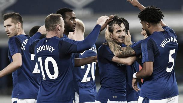 El Everton buscará su ansiada victoria en el derbi de Merseyside./ Foto: Premier League